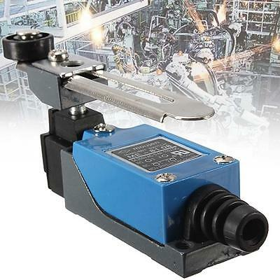 Blue ME-8108 Momentary with Roller Arm Limit Switch For CNC Mill Laser Plasma AC