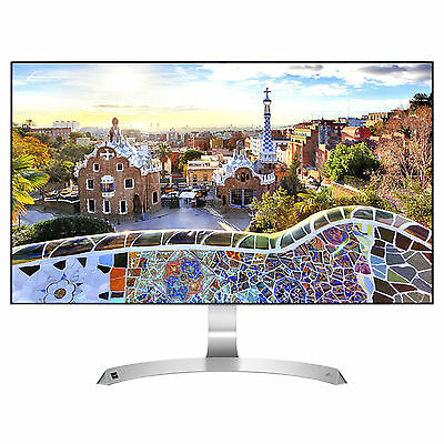 "LG 27MP89HM-S 27"" LED LCD Gaming Monitor FHD 1080P HDMI VGA FreeSync IPS Speaker"