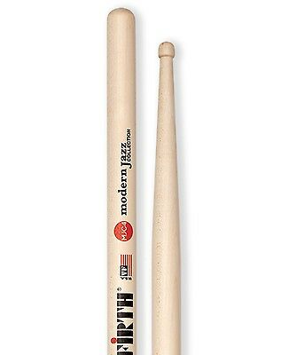 Vic Firth VFMJC4 Modern Jazz Collection 5B with Wood Tip Maple Drum Stick