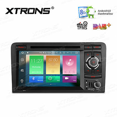 """Android 6.0 Autoradio GPS DVD 7"""" Navigation CANbus OBD2 DAB+ für AUDI A3 S3 RS3"""