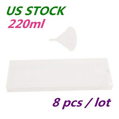 US Stock 8pcs 220ml Refill Ink Cartridges with Funnel for Roland FJ-540 / SC-540