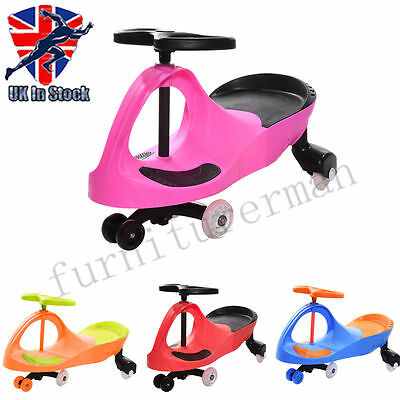 Panana Swing Wiggle Car Ride On Swivel Scooter Kid Child Toy Ride-On Car New UK
