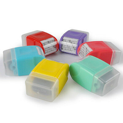 Office Plus Guard Your ID Roller Stamp SelfInking Stamp Messy Code Security Good