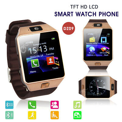 Bluetooth Smart Watch For Android HTC Samsung iPhone iOS + Camera SIM Slot CA
