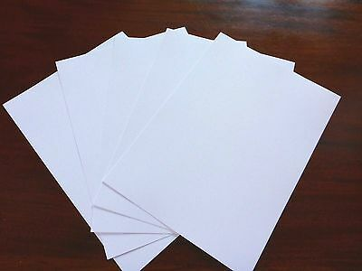 Hi White Linen Embossed 2 sided A4 300gsm card board stock 27 sheets