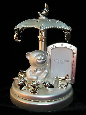 Sliver Collection Teddy Bear Music Box
