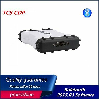 TCS CDP 2015.3 Auto PRO Diagnostic Scan Tool OBD2 with Bluetooth 3in1 White