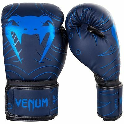 VENUM NIGHTCRAWLER BOXING GLOVES - BLUE Training, Sparring, MMA