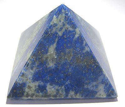Feng Shui 130 Grams Lapis Lazuli Pyramid Crystal Healing Gift Home Power Energy
