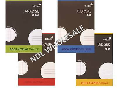 Silvine A4 Books Keeping Book (Cash / Journal / Analysis / Ledger) 32 Pages.
