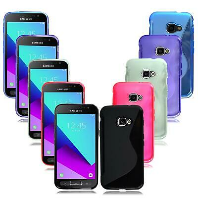 For Samsung Galaxy Xcover 4 SM-G390F New Black Gel Silicone Rubber Phone Case