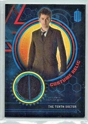 Doctor Who Extraterrestrial Encounters Costume Relic Card The Tenth Doctor 99/99