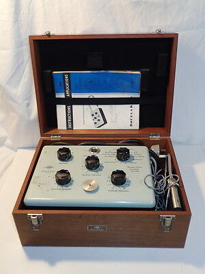 Bruel & Kjaer Vibration Pick-up Preamplifier in wooden box. Type 1606