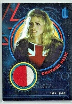 Doctor Who Extraterrestrial Encounters Costume Relic Card Rose Tyler 52/99