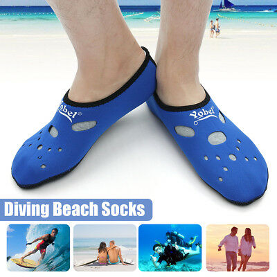 Outdoor Surfing Sock Snorkeling Water Exercise Swimming Scuba Diving Beach Boots