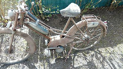 ancienne terrot a galet semas type c 1950 scooter moto cyclo peugeot eur 500 00 picclick fr. Black Bedroom Furniture Sets. Home Design Ideas