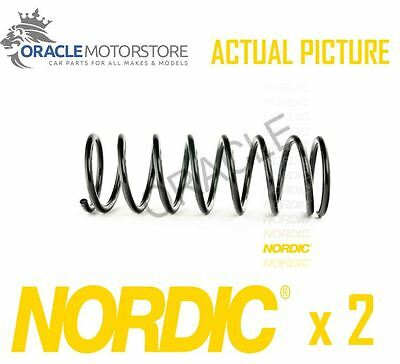 2 x NEW NORDIC REAR COIL SPRING PAIR SPRINGS OE QUALITY REPLACEMENT - CS152027