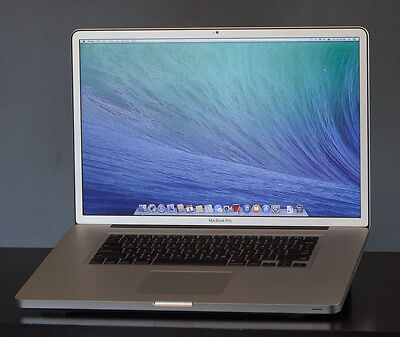 "MACBOOK PRO 17""  CORE I7 2.4 1TB SSD  17"" LATE 2011 16GB Glossy Screen A1 Condit"