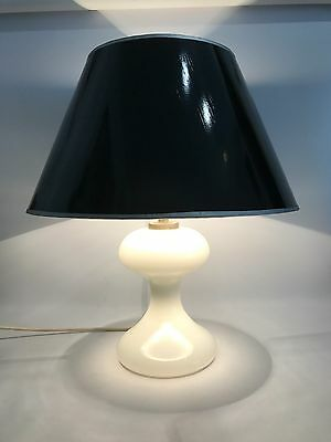 frühe Ingo Maurer ML1 Design Tischleuchte 60er 70er Table Lamp Lampe Glass 60s