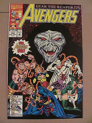 Avengers #352 Marvel Comics 1963 Series 9.2 Near Mint-