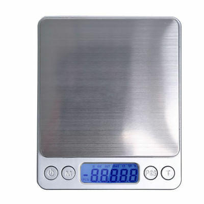 0.1g-3Kg Digital LCD Kitchen Food Scale Electronic Balance Weight Postal Scales