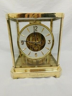LECOULTRE ATMOS CLOCK 528-8 WORKS 1970's