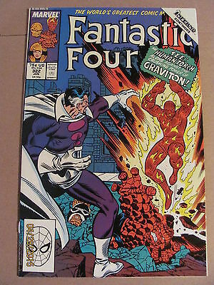 Fantastic Four #322 Marvel Comics 1961 Series Inferno crossover