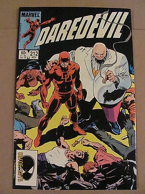 Daredevil #212 Marvel Comics NETFLIX