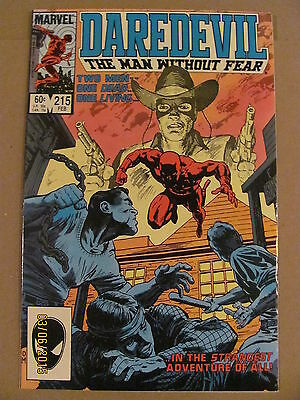 Daredevil #215 Marvel Comics NETFLIX
