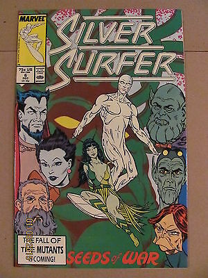 Silver Surfer #6 Marvel Comics 1987 Series 9.2 Near Mint