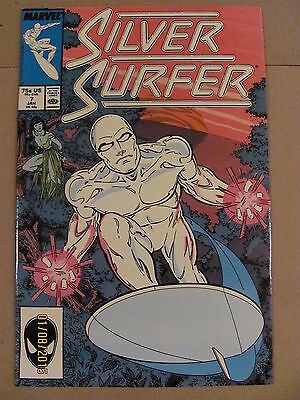 Silver Surfer #7 Marvel Comics 1987 Series 9.2 Near Mint