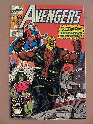 Avengers #331 Marvel Comics 1963 Series 9.2 Near Mint-