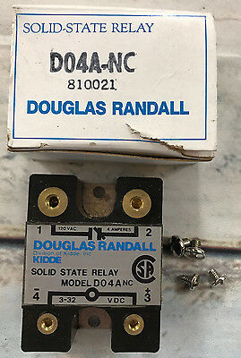 Douglas Randall Solid State Relay Model D04A-NC
