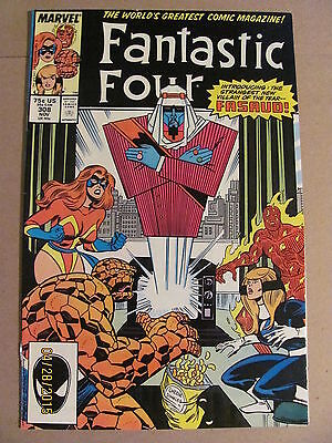 Fantastic Four #308 Marvel Comics 1961 Series FOX MOVIE