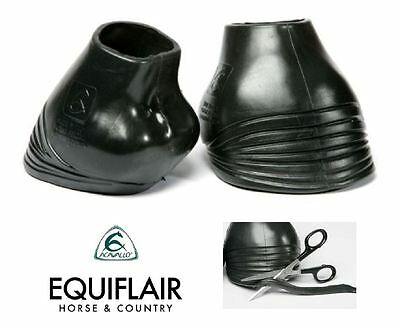 Acavallo Gel Protective Hoof Boots Over Reach Shock Absorbant