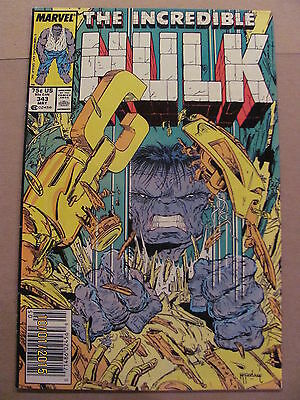 Incredible Hulk #343 Marvel Comics Todd McFarlane Newsstand 9.2 Near Mint-