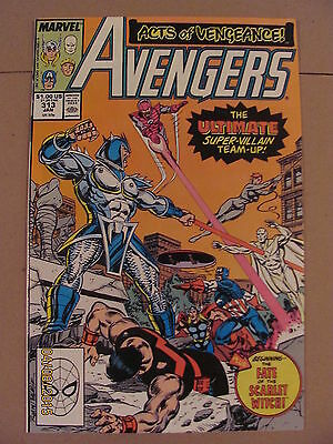 Avengers #313 Marvel Comics 1963 Series 9.2 Near Mint- ACTS OF VENGEANCE
