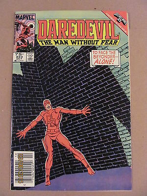 Daredevil #223 Marvel Comics NETFLIX Secret Wars II crossover Newsstand Edition