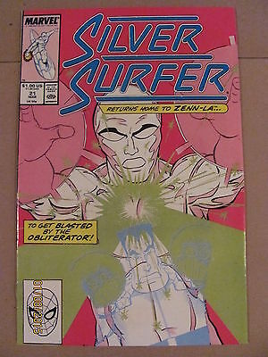 Silver Surfer #21 Marvel Comics 1987 Series 9.2 Near Mint