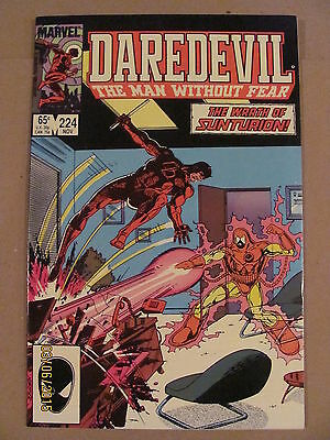 Daredevil #224 Marvel Comics NETFLIX