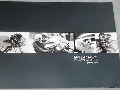 Ducati Paul Smart Sport Classic NEW ORIGINAL Ducati Sales Brochure