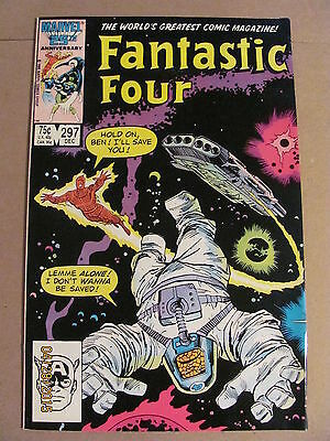 Fantastic Four #297 Marvel Comics 1961 Series