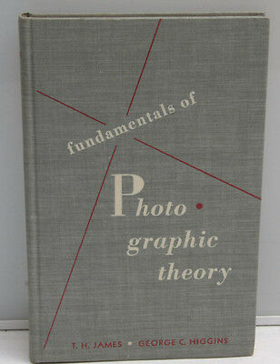 Fundamentals of Photographic Theory - Higgins James Wiley 1948 2nd 1949 - F32C