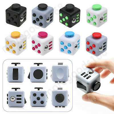New Magic Fidget Cube Anti-anxiety Adult Stress Relief Focus Funny Kids Toy Gift