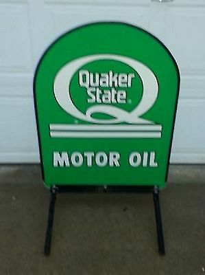 Quaker State Tomb Stone Sign