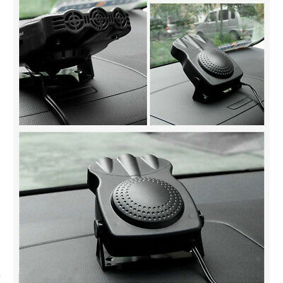 12V Portable Heating Cooling Heater Fan Car Auto Defroster Demister 150W