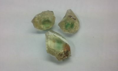 Oregon Sunstone from Eagle Butte - Facet Grade Rough - Green 70 ct Lot