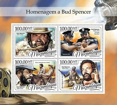 Z08 IMPERFORATED MOZ16403a MOZAMBIQUE 2016 Bud Spencer MNH Postfrisch