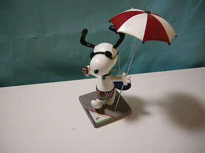 "Westland Peanuts on Parade ""Fun in the Sun Snoopy"" #8397 Figure SIGNED ARTIST"