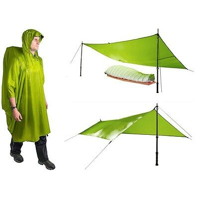 Poncho Tarp Ultra-Sil Nano Sea to Summit vert - Neuf